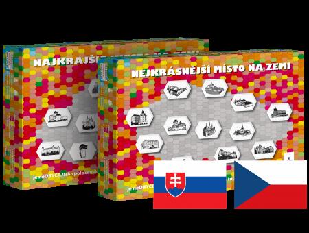 Najkrajšie miesto na zemi Slovensko a Česko